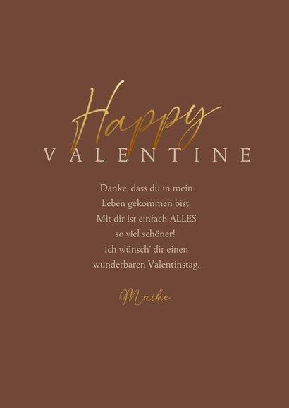 Valentinstag Fotokarte 'Happy Valentine' 3