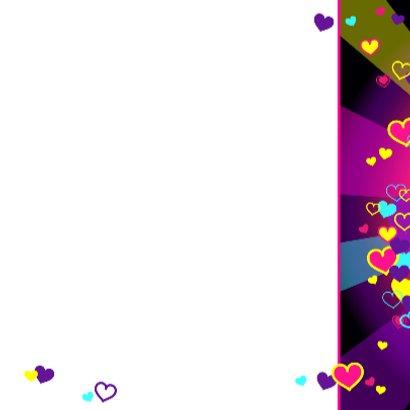 Van harte met gekleurde hartjes 3