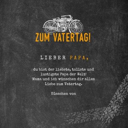 Vatertagskarte Motorrad Vintage 3