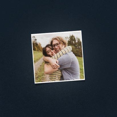 Veel liefs en een knuffel kaartje typografisch 2