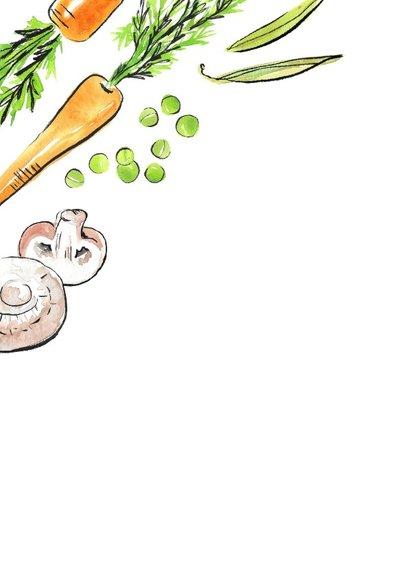 Veggie dinerkaart 2