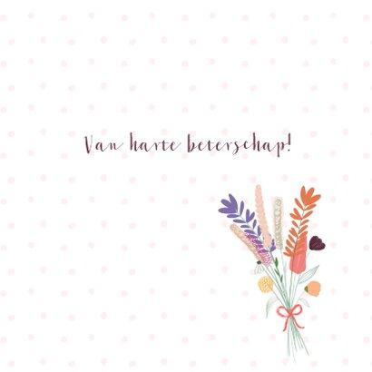 Veldbloemenboeket beterschap 3
