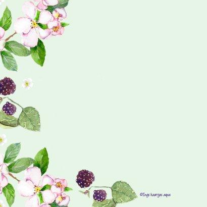 Verhuiskaart Droomhuis vlinder 2