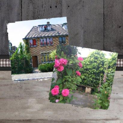 Verhuiskaart Huisje Hout Foto's 2