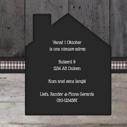 Verhuiskaart Klassiek Eigen foto 3