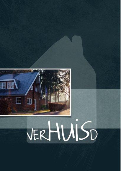 verhuiskaart met huis en speelse typografie 2