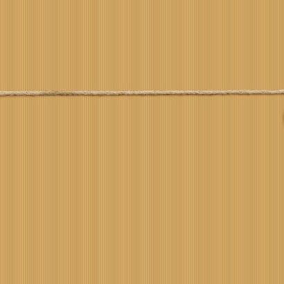 Verhuiskaart met touw, labels, sleutel en eigen foto 2