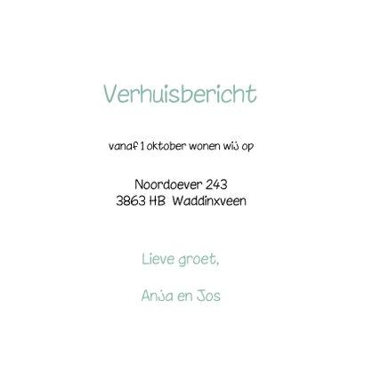 Verhuiskaart Pastel Deurslot OT 3