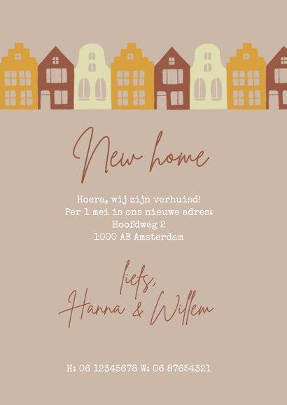 Verhuiskaart sleutel en huizen 3