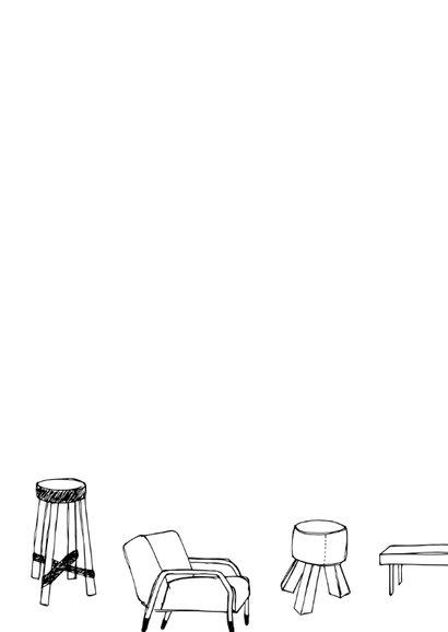 Verhuiskaart trendy meubels 2