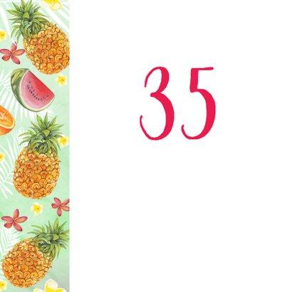 Verjaardag ananas bloemen 2