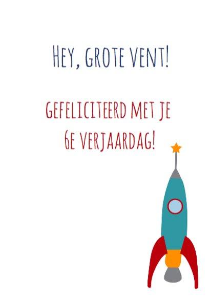 verjaardag astronaut 3