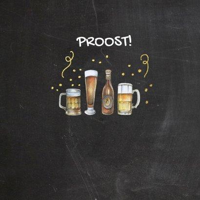Verjaardag bier op krijtbord 2