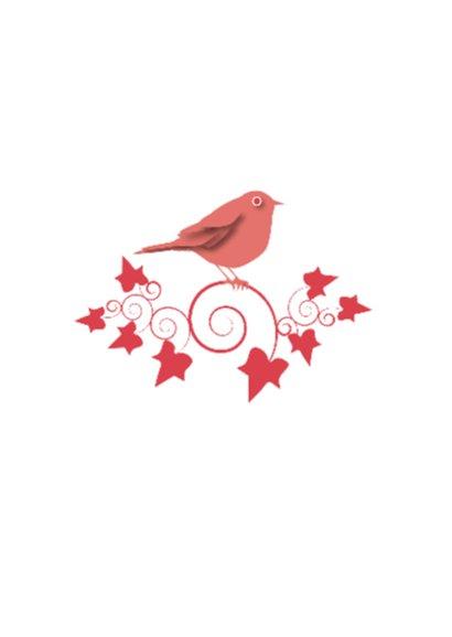 Verjaardag - Bird Ivy Red - MW 2
