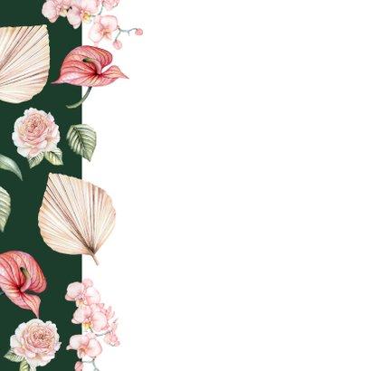 Verjaardag bloemen botanical flowers 2