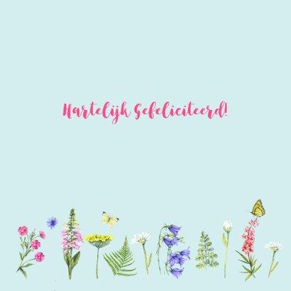 Verjaardag bloemen en kruiden 2