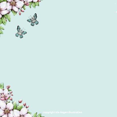 Verjaardag bloesem vlinders - IH 2
