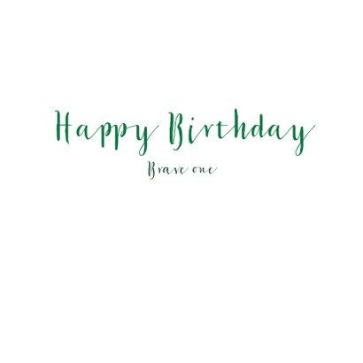 Verjaardag Brave One 3
