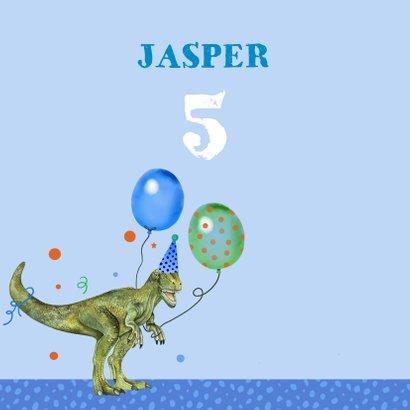 Verjaardag dinosaurus ballonnen 2