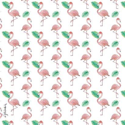 Verjaardag flamingo 2
