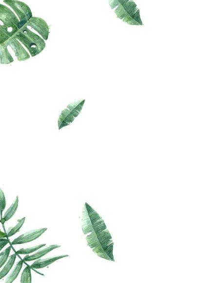 Verjaardag. Happy Birthday botanisch  2