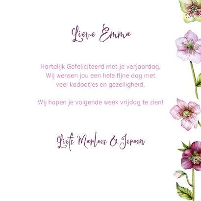 Verjaardag helleborus rozen 3