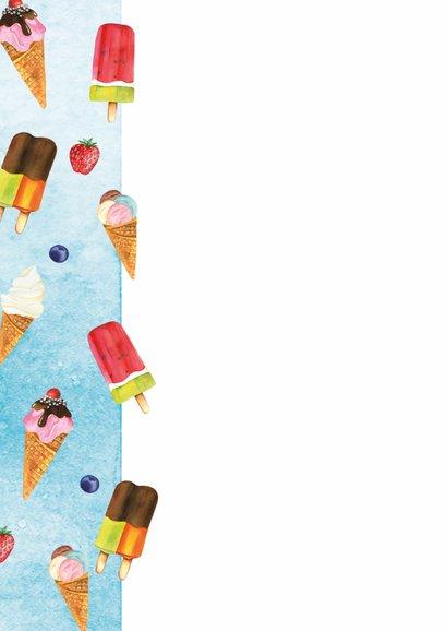 Verjaardag ijsjes 2