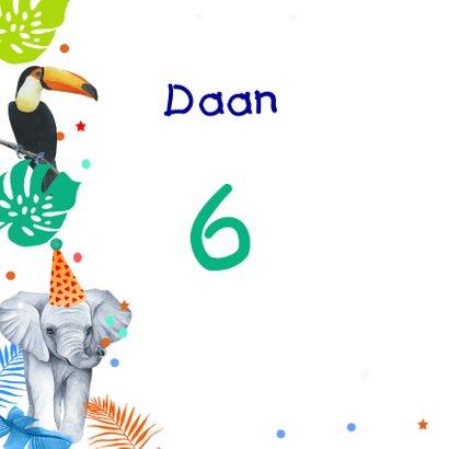 Verjaardag jongetjes wilde dieren 2