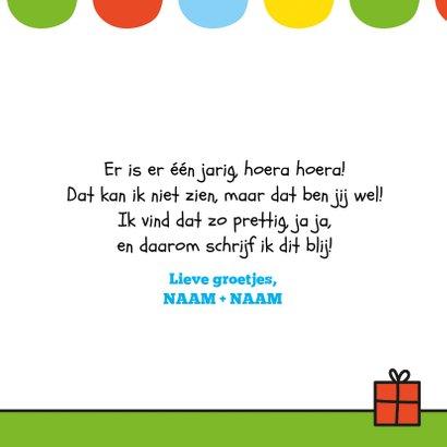 Verjaardag konijntjes en ballon 3