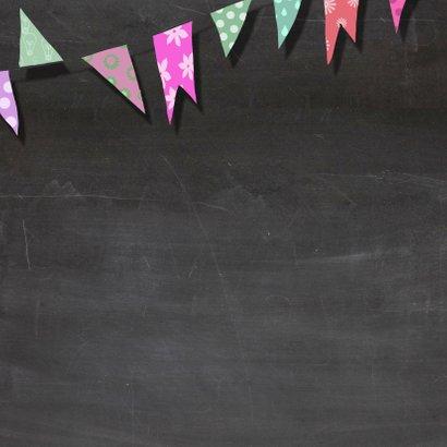 Verjaardag krijtbord kleur - AV 2