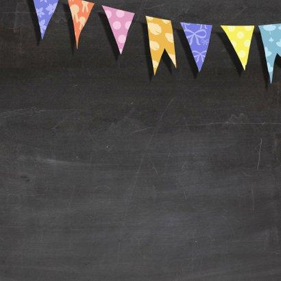 Verjaardag krijtbord kleur - AV 3