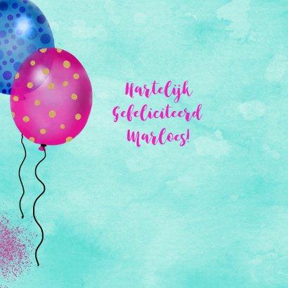 Verjaardag lama ballonnen 2
