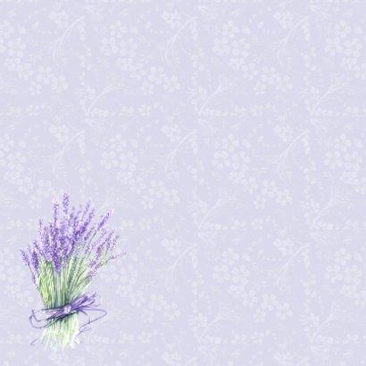 Verjaardag lavendel vaasje 2