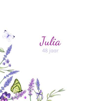 Verjaardag lavendel zomer 2