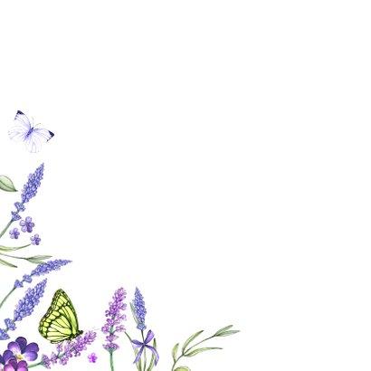 Verjaardag lavendelkrans zomer 2