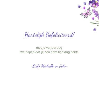 Verjaardag lavendelkrans zomer 3