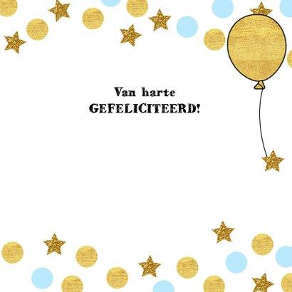 Verjaardag lief girafje op schommel met ballon 3
