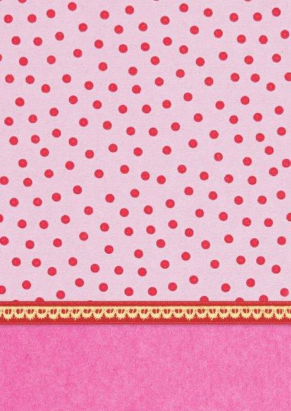 Verjaardag Meisje 6 roze 2