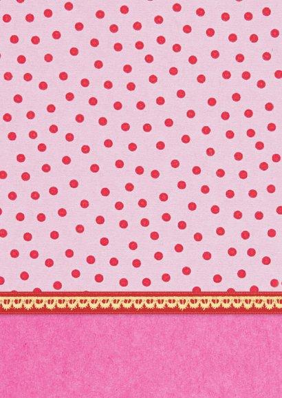 Verjaardag Meisje 8 roze 2