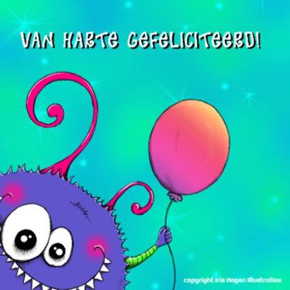 Verjaardag Monshi Ballon - IH 2