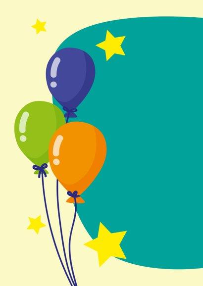 Verjaardag olifantje en ballonnen 2