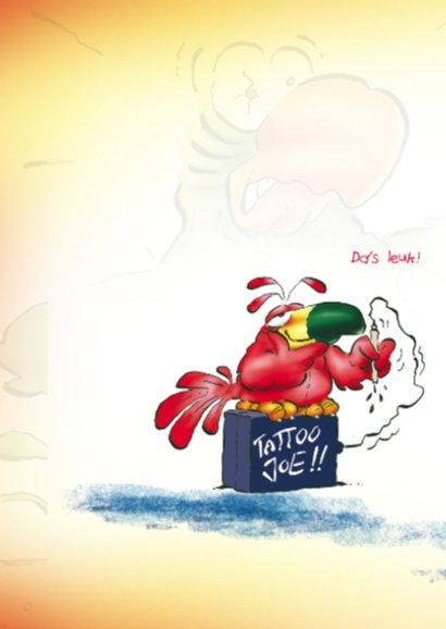 Verjaardag Rocco 7 papegaai tattoo 2