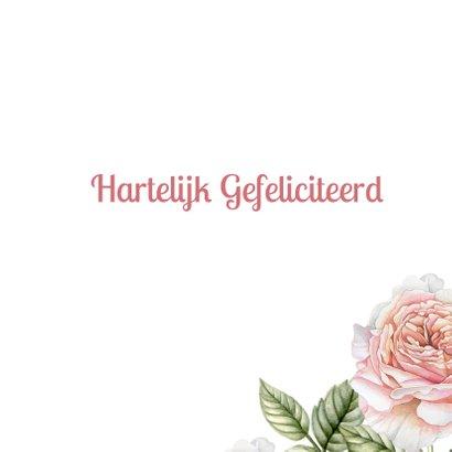 Verjaardag romantische rozen 3