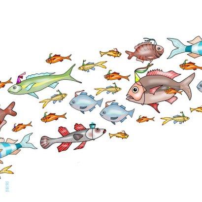 Verjaardag - school vissen 2