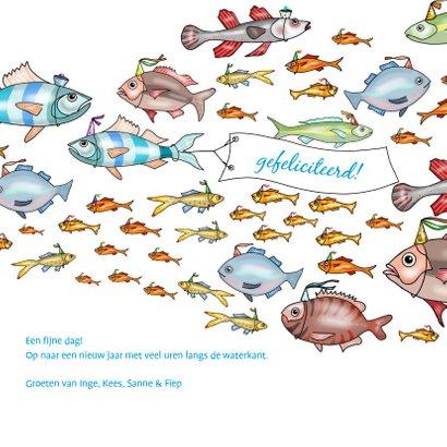 Verjaardag - school vissen 3