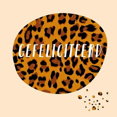 Verjaardag spetters met luipaardprint 3