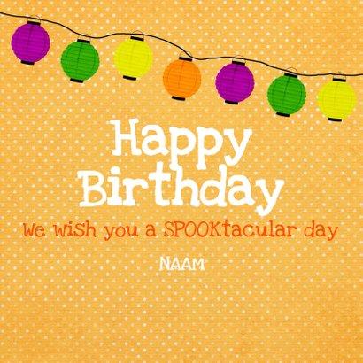 Verjaardag Spooky Birthday 3