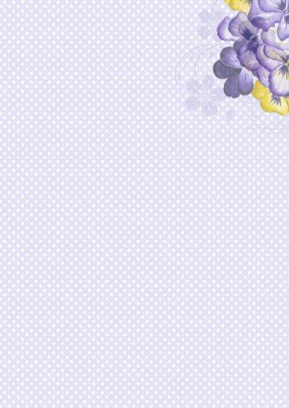 verjaardag viooltjes vaasje 3