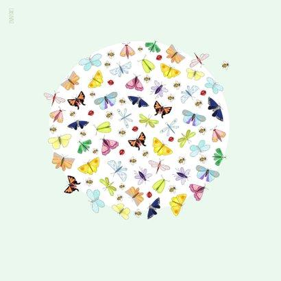 Verjaardag - vlindercirkel 2