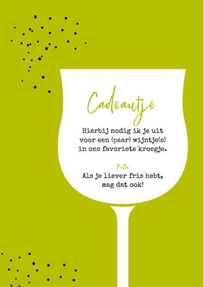 Verjaardag we gaan wijnen, wijnen, wijnen 2